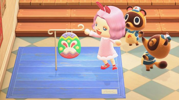 Animal Crossing Bunny Day Sign Nook's Cranny