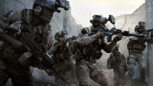 Call of Duty Modern Warfare squad
