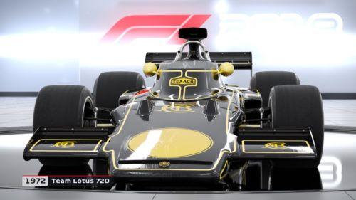 1972 Lotus 72D in F1 2018