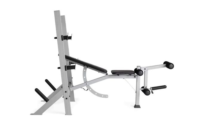 best weight bench weider product image of a grey and black weight bench