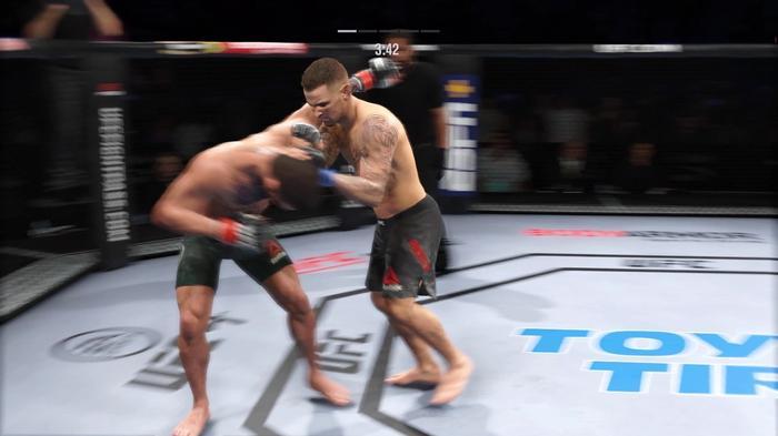 McGregor Poirier UFC 257 Result UFC 4 Simulation