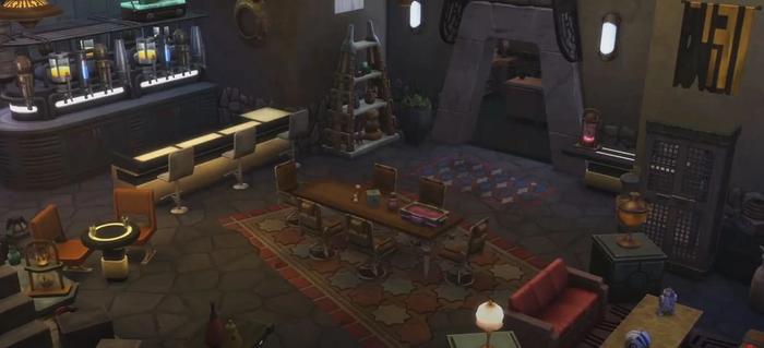Sims 4 Star Wars Journey to batuu designs 1