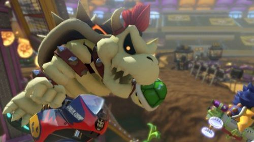 mario kart 8 deluxe dry bowser feature