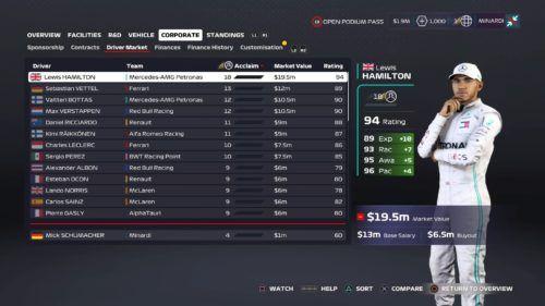 Lewis Hamilton F1 2020 My Team