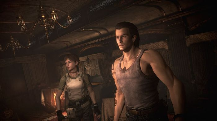 Resident Evil 0 Billy and Rebecca