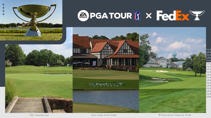 The FedEx Cup in EA Sports PGA Tour
