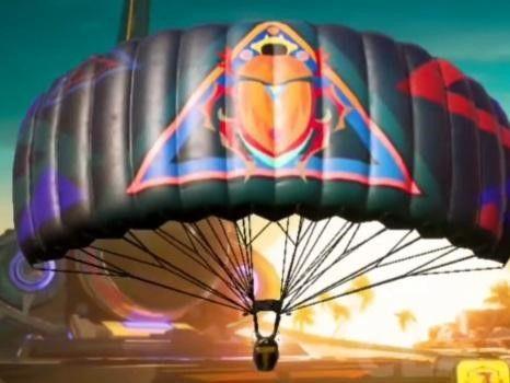 PUBG Mobile Season 19 Scarab Totem Parachute
