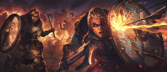 Assassin's Creed Valhalla Wrath of the Druids DLC Fan Art Eivor