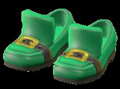ACNH Shamrock Day Items Clothing Shamrock Shoes
