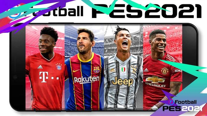 pes 2021 mobile cover rs