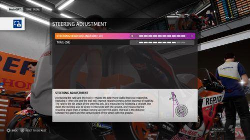 MotoGP™20 Steering Adjustment setting Qatar min