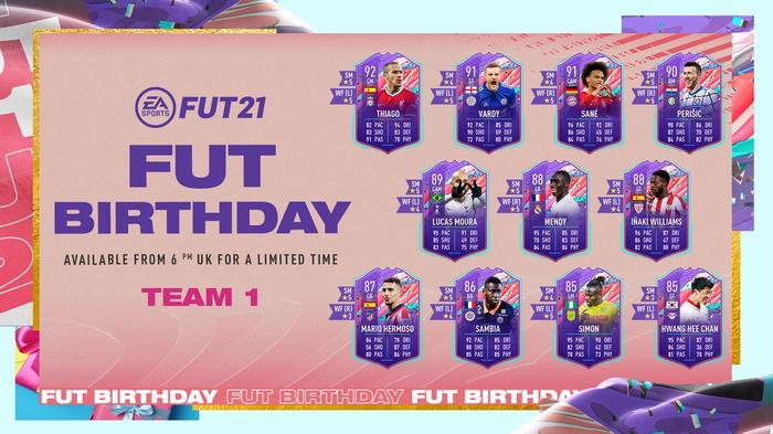 fifa 21 fut birthday team 1