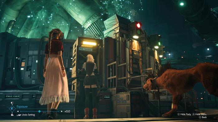 Final Fantasy 7 Remake Intergrade Key Art Aerith Tifa Red XIII