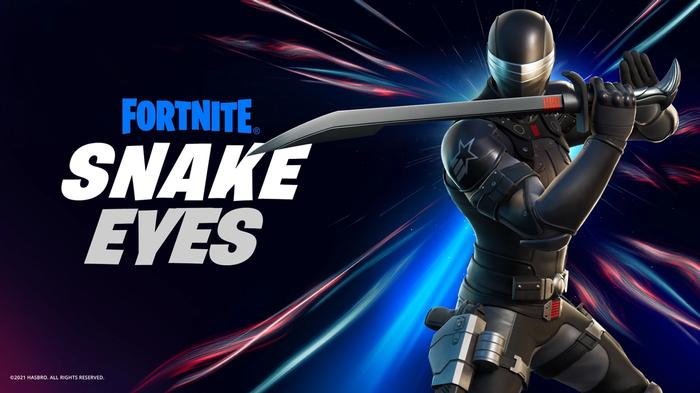 Fortnite Snake Eyes Official Art