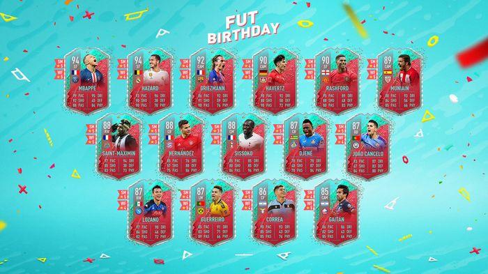 fut birthday fifa 20 squad