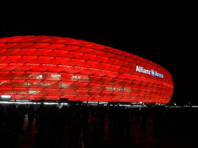 allianz arena bayern munich stadium
