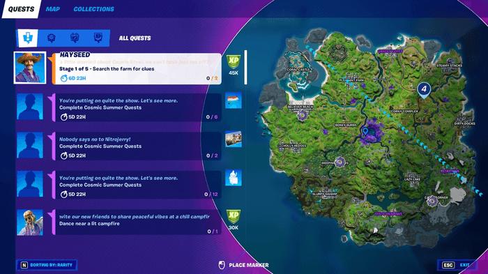 Fortnite Season 7 Abductor Location
