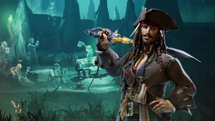 Sea of Thieves Season 3 Jack Sparrow Crew Kit A Pirate's Life