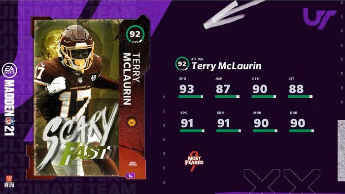 Scary Fast Terry McLaurin