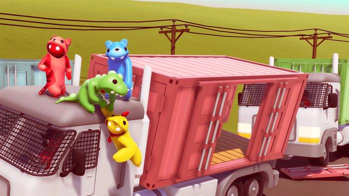 Xbox Game Pass July 2021 Gang Beasts