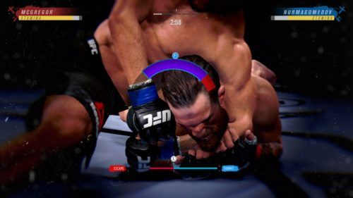 Submissions UFC 4
