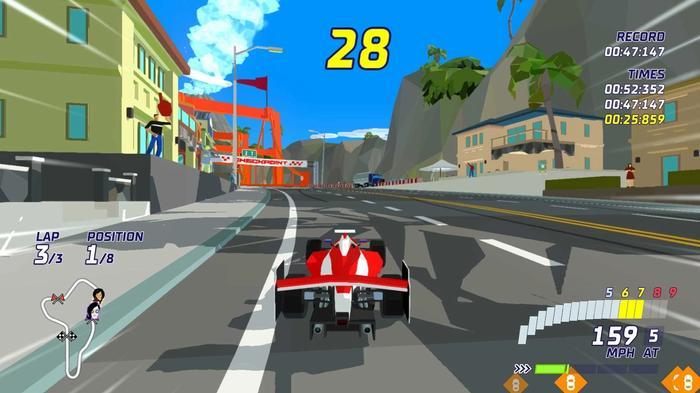 Hotshot racing f1 car 1