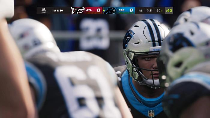 The Panthers in Madden 22