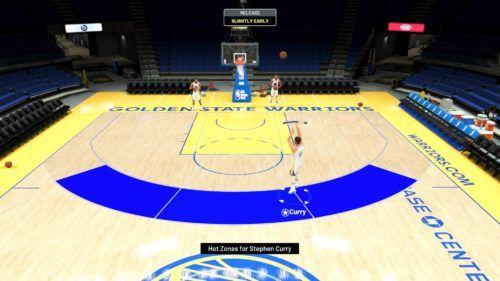 NBA 2K21 shot meter