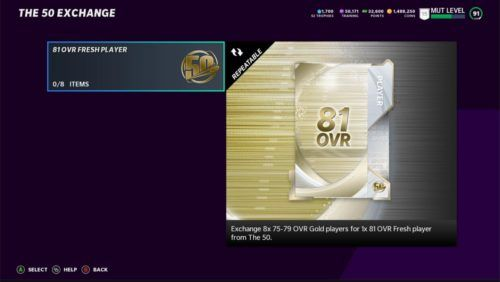 Madden 21 Ultimate Team The 50 Exchange