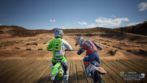 co-op multiplayer on Monster Energy Supercross 3
