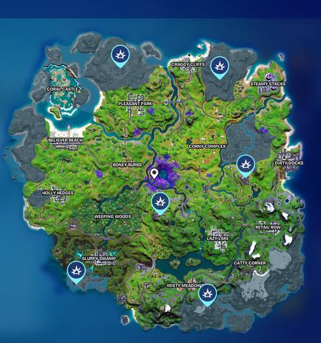 Fortnite IO Computer Locations