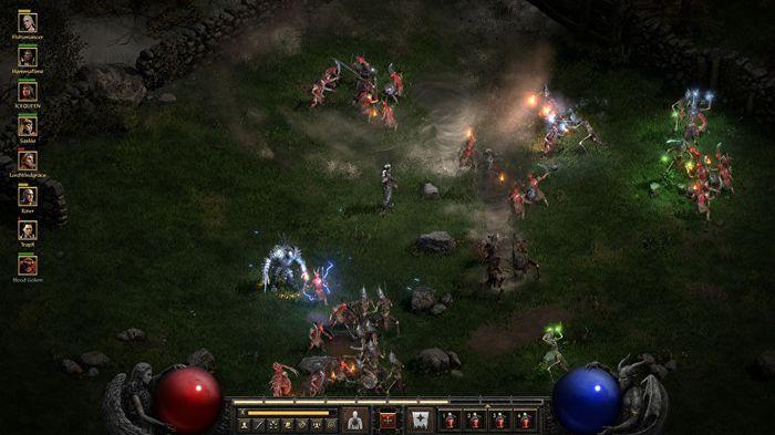 Diablo 2 Resurrected Promo In Game