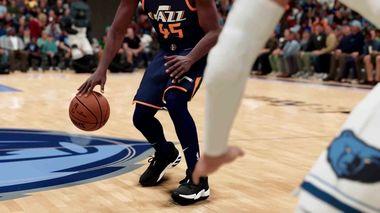 NBA 2K21 players collision