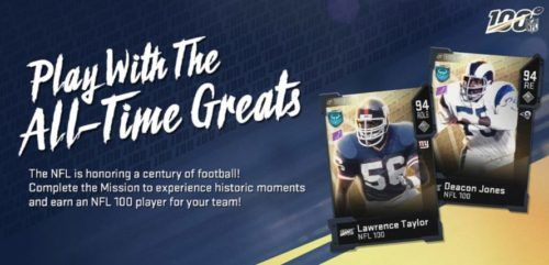 nfl 100 mut lawrence taylor