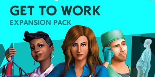 Get to work the Sims 4 expansion pack
