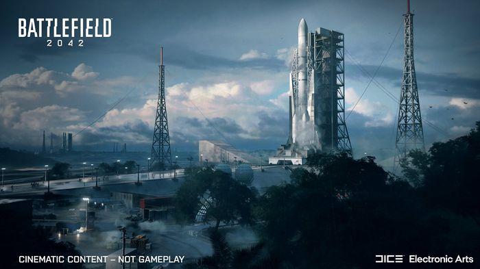 Battlefield 2042 map Orbital rocket launch pad