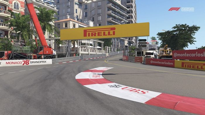 Monaco GP Turn 1 Sainte Devote