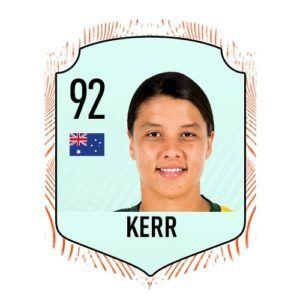 Samantha Kerr FIFA 21 Rating