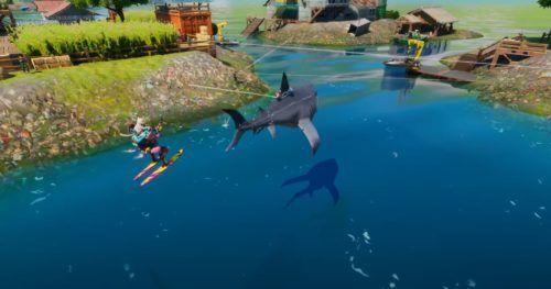 fortnite season 3 shark vehicle