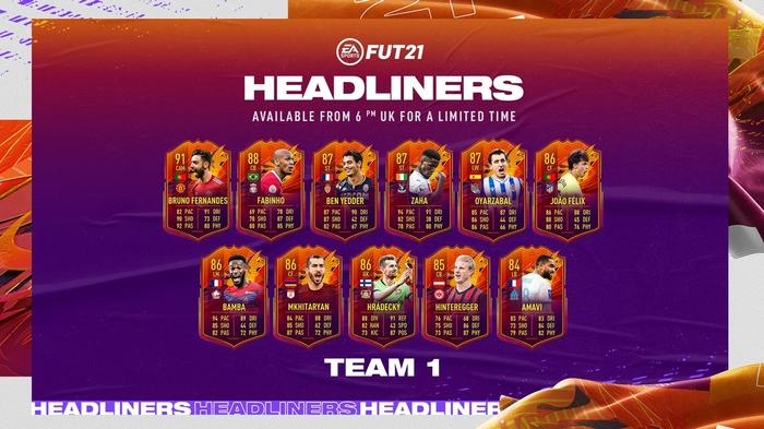 FIRST XI! Team 1 of the Headliners promo will be tough to beat
