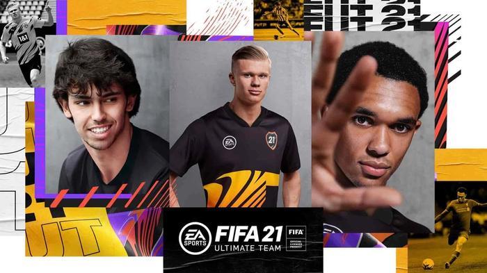 Felix Haaland Alexander Arnold FIFA 21 FUT Reveal 1