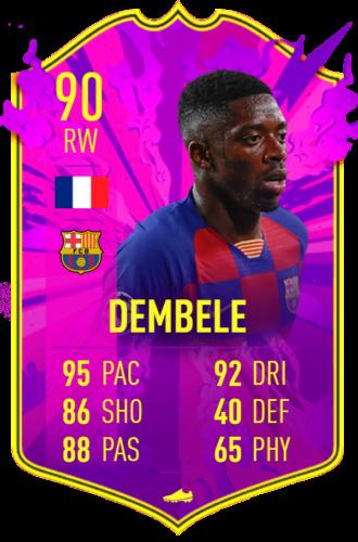 Dembele future stars