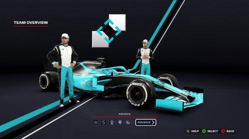 F1 2020 My Team Livery