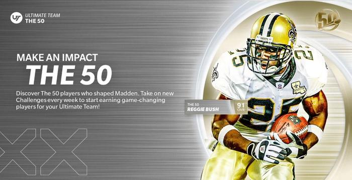 Madden 21 Ultimate Team The 50 Reggie Bush 3