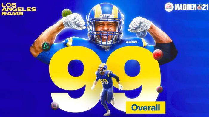 Madden 22 ratings Aaron Donald