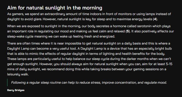 gscience sleep top tips barry bridges