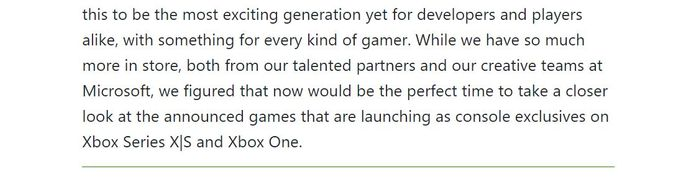 MORE - Even though they are pretty vague, the Xbox team is letting us know there is more incoming
