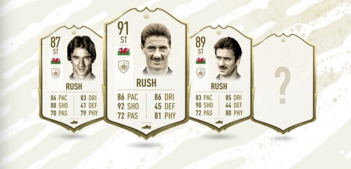 Ian Rush FIFA 20 Icon Ratings
