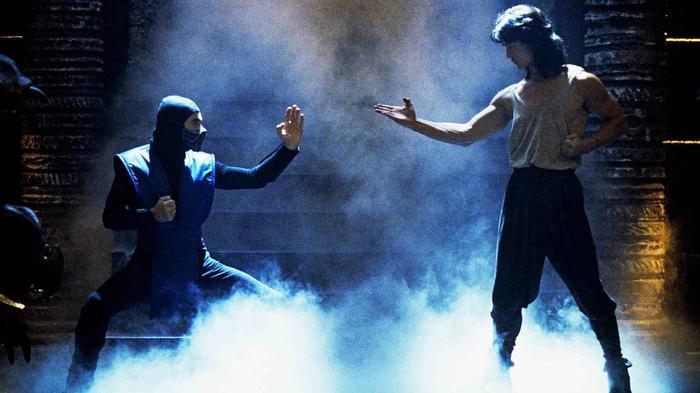 mortal kombat 1995 movie sub zero liu kang