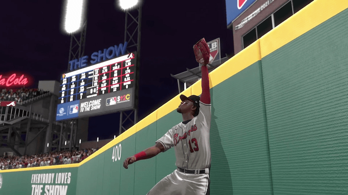 MLB The Show 21 fielding gameplay